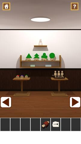 Th 脱出ゲームアプリ Wooden Toy  攻略 2357