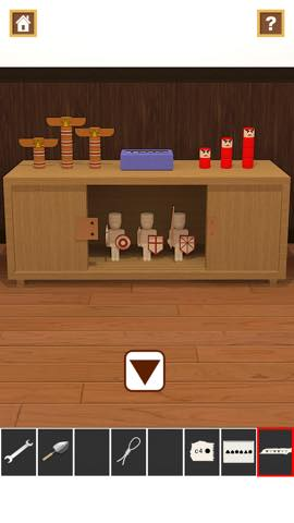 Th 脱出ゲームアプリ Wooden Toy  攻略 2388