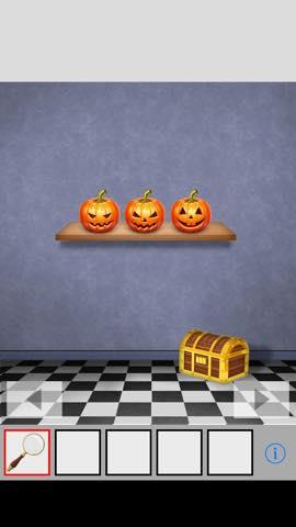 Th 脱出ゲーム Pumpkin  攻略方法と謎の解き方 ネタバレ注意 3547