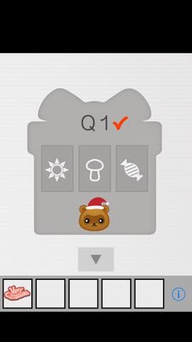 Th 脱出ゲーム Xmas(クリスマス)   攻略と解き方 ネタバレ注意 1296