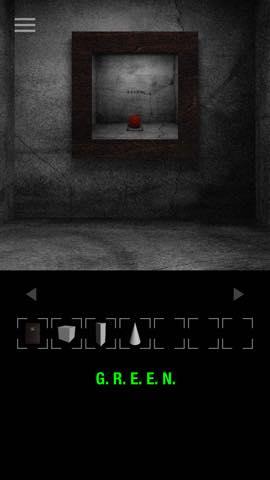 Th 脱出ゲーム GREEN(グリーン)   攻略と解き方 ネタバレ注意  3148