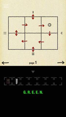 Th 脱出ゲーム GREEN(グリーン)   攻略と解き方 ネタバレ注意  3153