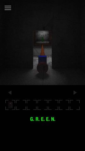 Th 脱出ゲーム GREEN(グリーン)   攻略と解き方 ネタバレ注意  3168