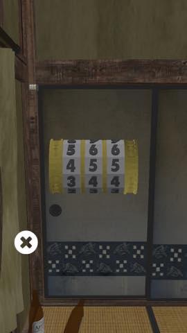 脱出ゲーム 4畳半 攻略と解き方 ネタバレ注意  3348