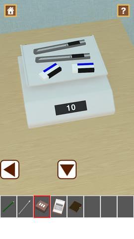 脱出ゲーム Stationery  攻略と解き方 ネタバレ注意  3043