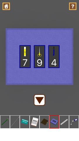 脱出ゲーム Stationery  攻略と解き方 ネタバレ注意  3064