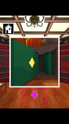 Th 脱出ゲーム Wonder Room 図書室からの脱出   攻略と解き方 ネタバレ注意  3