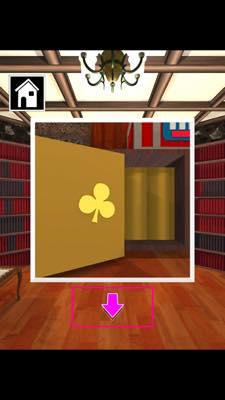 Th 脱出ゲーム Wonder Room 図書室からの脱出   攻略と解き方 ネタバレ注意  4