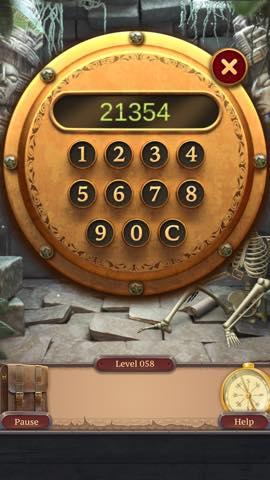 脱出ゲーム  100 Doors Challenge 2  攻略と解き方 ネタバレ注意  lv58 3