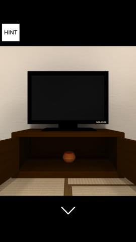 脱出ゲーム 忍者屋敷 からくり仕掛けの和室から脱出 攻略と解き方 ネタバレ注意  9