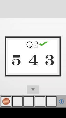 脱出ゲーム Q2 攻略と解き方 ネタバレ注意  4319