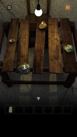 脱出ゲーム table  攻略と解き方 ネタバレ注意  4403