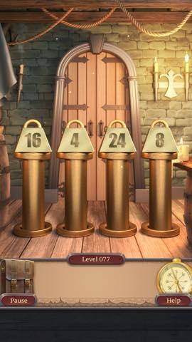 脱出ゲーム  100 Doors Challenge 2 攻略とヒント ネタバレ注意  lv77 0