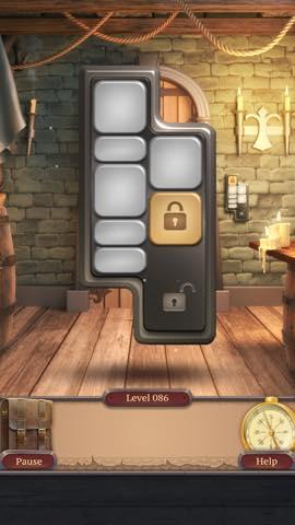 脱出ゲーム  100 Doors Challenge 2  攻略とヒント ネタバレ注意  lv86 10