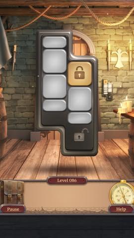 脱出ゲーム  100 Doors Challenge 2  攻略とヒント ネタバレ注意  lv86 6