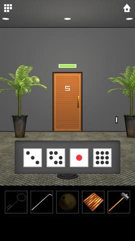 脱出ゲーム DOOORS 5  攻略とヒント ネタバレ注意  5630