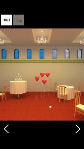 脱出ゲーム Wedding   攻略とヒント ネタバレ注意  8