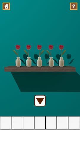 Th 脱出ゲーム Flower Room  攻略とヒント ネタバレ注意   5769