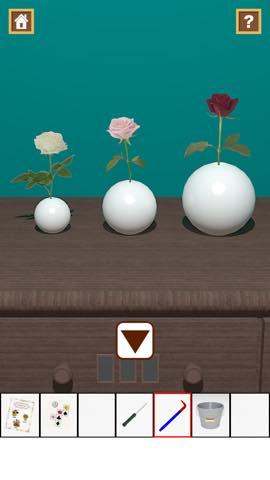 Th 脱出ゲーム Flower Room  攻略とヒント ネタバレ注意  5791
