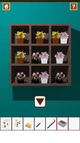 Th 脱出ゲーム Flower Room  攻略とヒント ネタバレ注意  5813