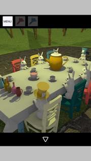 脱出ゲーム Tea Party 攻略とヒント ネタバレ注意  5390