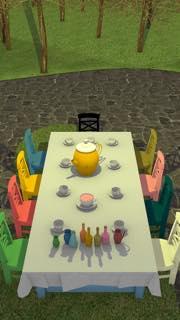 脱出ゲーム Tea Party 攻略とヒント ネタバレ注意  5431