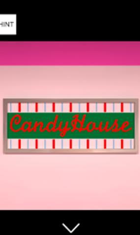 脱出ゲーム キャンディハウスからの脱出 攻略法1
