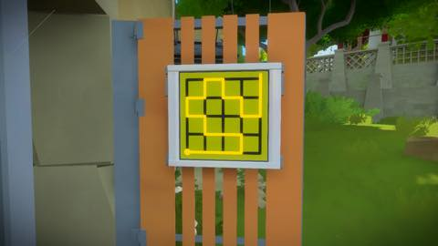 Th iPhoneゲームアプリ「The Witness」攻略 1887