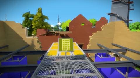 Th iPhoneゲームアプリ「The Witness」攻略 1888