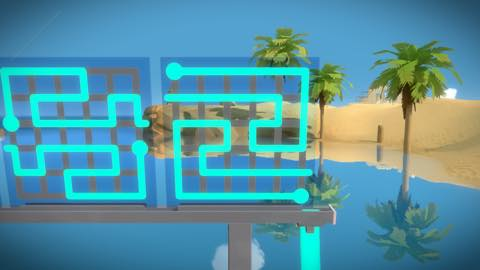 Th iPhoneゲームアプリ「The Witness」攻略 1921