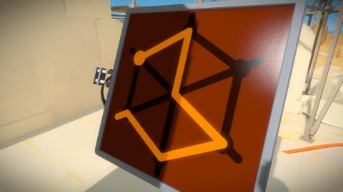 Th iPhoneゲームアプリ「The Witness」攻略 1950