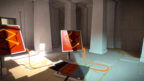 Th iPhoneゲームアプリ「The Witness」攻略 1961