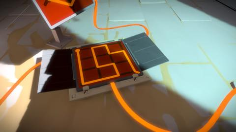 Th iPhoneゲームアプリ「The Witness」攻略 1962