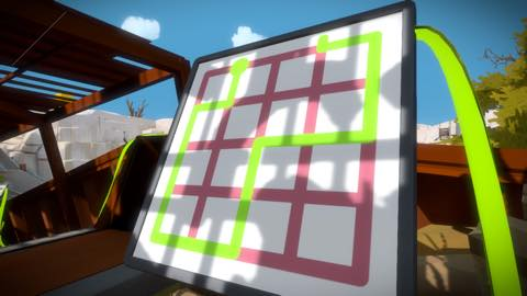 Th iPhoneゲームアプリ「The Witness」攻略 2038