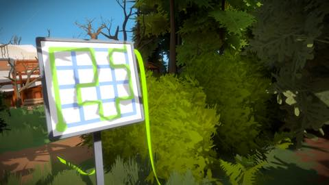 Th iPhoneゲームアプリ「The Witness」攻略 2041