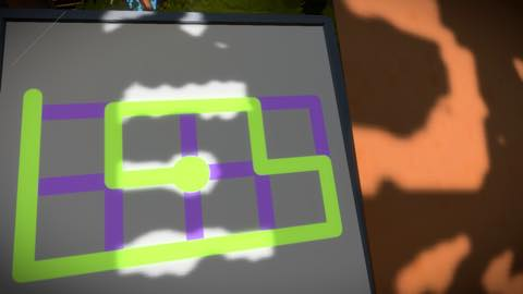 Th iPhoneゲームアプリ「The Witness」攻略 2049