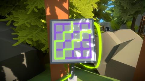 Th iPhoneゲームアプリ「The Witness」攻略 2050