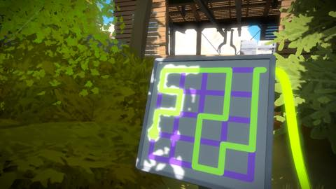 Th iPhoneゲームアプリ「The Witness」攻略 2052