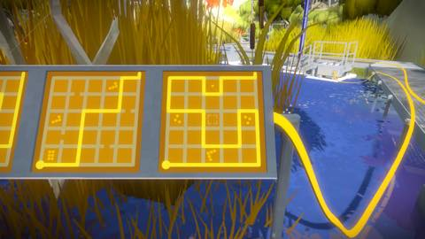 Th iPhoneゲームアプリ「The Witness」攻略 2095