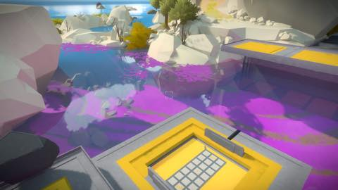 Th iPhoneゲームアプリ「The Witness」攻略 2096