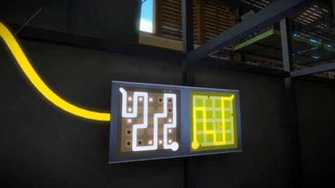 Th iPhoneゲームアプリ「The Witness」攻略 2140