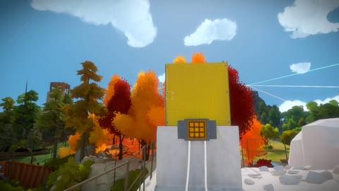 Th iPhoneゲームアプリ「The Witness」攻略 2158