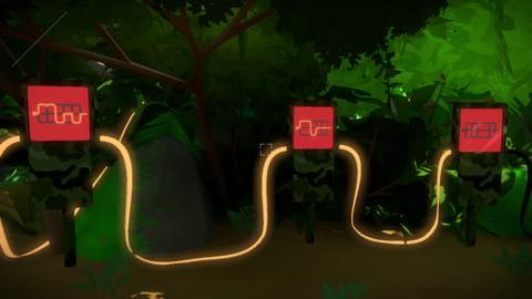 Th iPhoneゲームアプリ「The Witness」攻略 2168