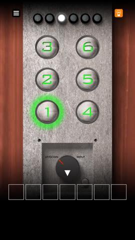 Th Androidスマホアプリ脱出ゲーム「エレベーターからの脱出」 攻略 7272
