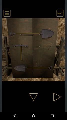 Th Adnroidスマホゲームアプリ脱出ゲーム 地賊団アジトからの脱出攻略 3