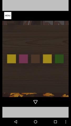 Th 脱出ゲーム Autumn 紅葉とキノコとリスの家 攻略 17