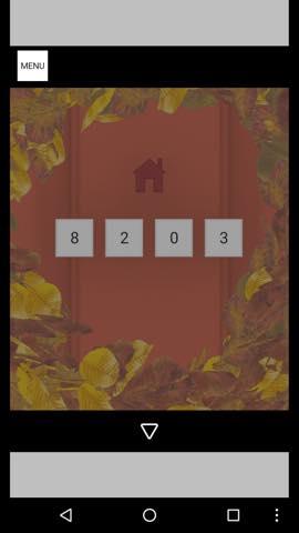 Th 脱出ゲーム Autumn 紅葉とキノコとリスの家 攻略 58