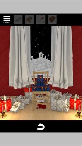 Th 脱出ゲーム Merry Xmas 暖炉とツリーと雪の家  攻略 3706