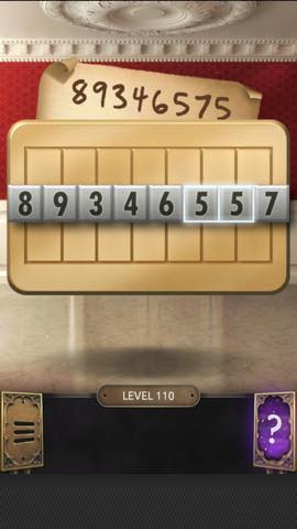 Th 脱出ゲーム  100 Doors Challenge  攻略 110 3