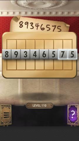 Th 脱出ゲーム  100 Doors Challenge  攻略 110 8